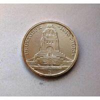 Германия, Саксония 3 марки 1913, 100 лет битве при Лейпциге, серебро