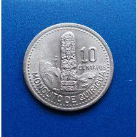 Гватемала 10 центаво 1996 г. Продажа коллекции. #10421