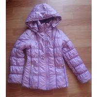 Куртка детская деми еврозима сиреневая