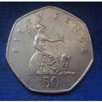 Великобритания 50 пенсов 2001