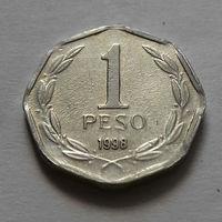 1 песо, Чили 1998 г.