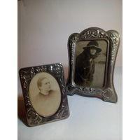 Старые рамки со старыми фотографиями