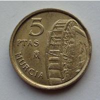 Испания 5 песет. 1999
