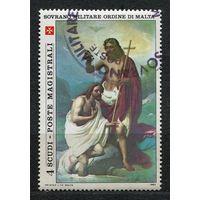 Живопись. Крещение Христово. Мальтийский Орден. 1983