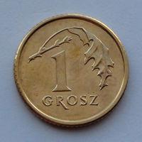 Польша 1 грош. 2010