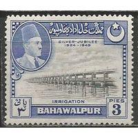 Пакистан(Бахавалпур). 25 лет правления Садека Мухаммед-хана V. 1949г. Mi#22.