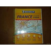FRANSE  2004.  ATLAS ROUTIER et TOURISTIQUE