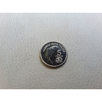 Фиджи 5 центов 1995 год ФАО