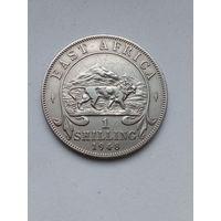 Британская Восточная Африка 1 шиллинг 1948.