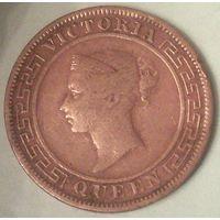 РАСПРОДАЖА!!! - ЦЕЙЛОН 1 цент 1892 год