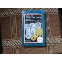 Каталог польских монет от 1916 до 2013 года Януша Пархимовича (В т.ч. Данциг и окупационные)