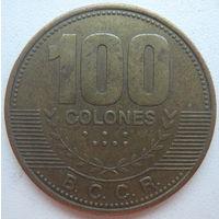 Коста-Рика 100 колон 2007 г. (d)