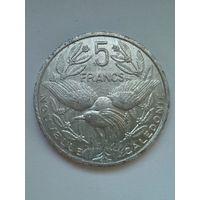 Новая Каледония 5 франков 2007