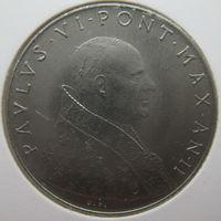 Ватикан 50 лир 1964 г. В холдере (gk)
