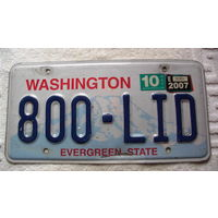 """Номер авто  Вашингтон США. """"800"""" распродажа"""