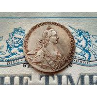 Монета РИ, 1 рубль 1771.