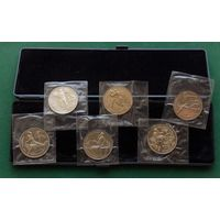 Набор монет БАРСЕЛОНА-92 !!!ОРИГИНАЛ В РОДНОЙ УПАКОВКЕ!!!