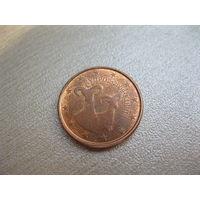 1 евроцент Кипр. 2009 г.