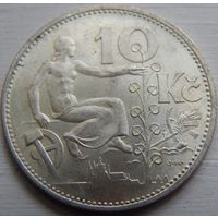 16. Чехословакия 10 крон 1931 год, серебро*
