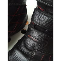 Ботинки зимние бартек мех кожа
