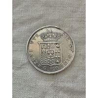Сицилия 120 гран 1841 г.