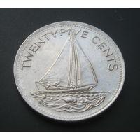 Багамские острова. Багамы. 25 центов. 2000г.