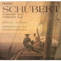Франц Шуберт, Симфония #3, #6 LP 1985