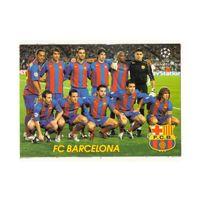 Футбольная карточка ФК Барселона