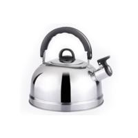 Чайник для плиты BINGO LKD-1026 TM, 2.6л, нержавейка со свистком, для любителей ретро и экономии электричества, новый в коробке, гарантия.