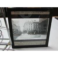 Фото негатив фото пластина Советско-Польская война 1919-1921 г.Варшава