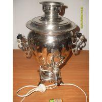 Самовар электрический Тула  СССР 80 + гг . 220 Вт  объём - 3 литра