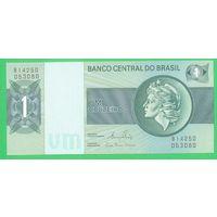 Бразилия 1 крузеиро образца 1972-1980 года UNC