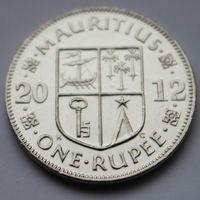 Маврикий, 1 рупия 2012 г