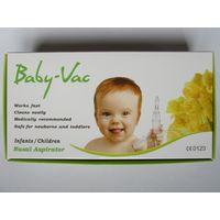 Детский вакуумный аспиратор соплеотсос Baby-Vac