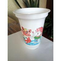 Баночка от молочного продукта Белакт 2012 года.