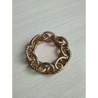 Браслет, кольца метталические на резинке