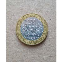 Центральная Африка 100 франков 2006 (BEAC 100 FRANCS)