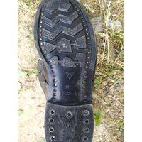 Ботинки 49 р-ра , металический носок