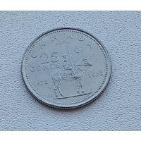 Канада 25 центов, 1973 100 лет конной полиции Канады 5-12-17