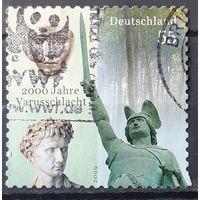 2009 - почтовая марка  - 2000-ая годовщина битвы за Варус -  Германия