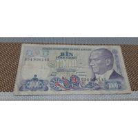 Турция 1 000 лир 1970