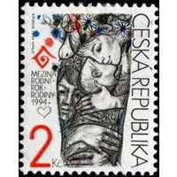 Чехия 1994 год- Международный Год Семьи **