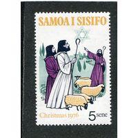 Самоа. Рождество 1976