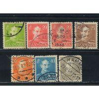Дания 1942 Христиан Х Стандарт #270-3,275-6
