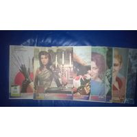"""Журналы """"Работница"""" 1989 г. подписка"""