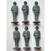 Оловянные солдатики ( 6 шт ).