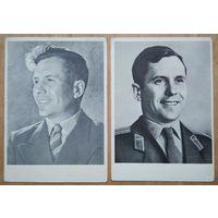 Космонавт СССР. Попович. 1962 г. Чистые.