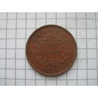 Саравак 1 цент 1937г.не частый год