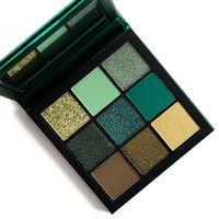 Палетка теней Huda Beauty Emerald Obsessions Eyeshadow Palette