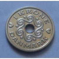 1 крона, Дания 1995 г., AU